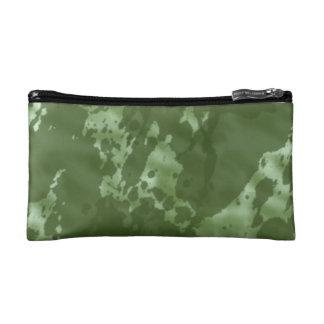 Green Camo Cosmetic Bags