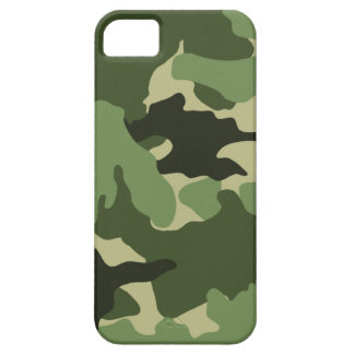 Green Camo Military iPhone 5 Barely There Cases