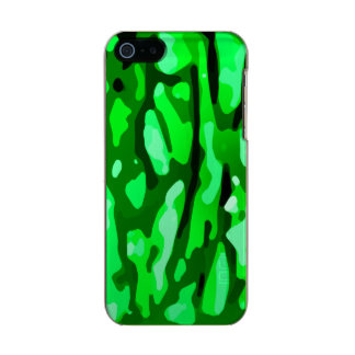 Green Camo Pattern Incipio Feather® Shine iPhone 5 Case