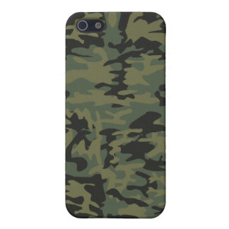 Green camo pattern iPhone 5/5S case