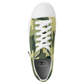 Green Camo shoes, trendy camouflage sneaker
