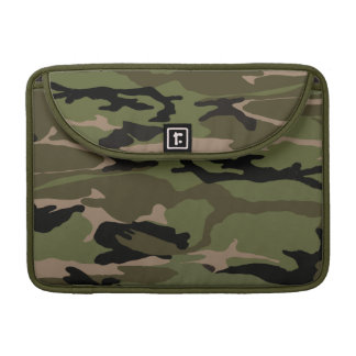 Green Camo Sleeve For MacBook Pro