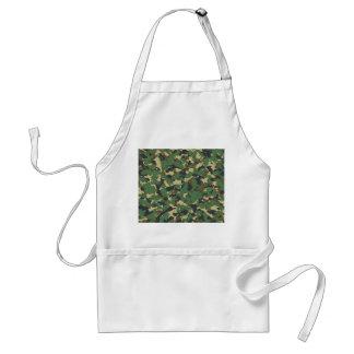 Green camo standard apron