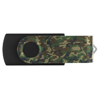 Green Camo USB Flash Drive