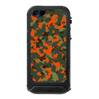 Green Camo with Safety Blaze Orange Incipio ATLAS ID™ iPhone 5 Case