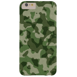 Green Camouflage Barely There iPhone 6 Plus Case