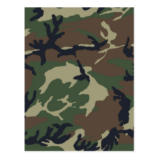 Green Camouflage camo Post Cards
