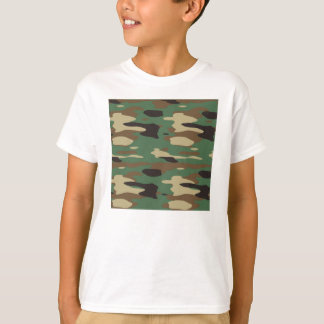 Green Camouflage Child's T Shirt