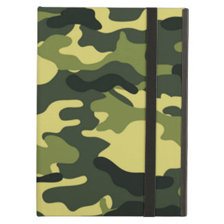 Green Camouflage Cover For iPad Air