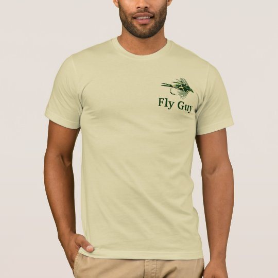 Green Camouflage fly fishing lure T-Shirt