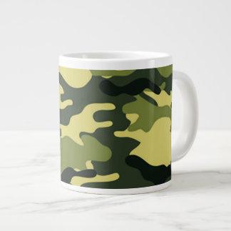 Green camouflage Jumbo Mug