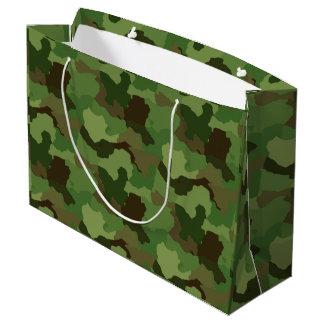 Green Camouflage/Military/Hunter Camo Gift Bag