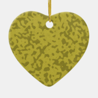 Green Camouflage Ornaments