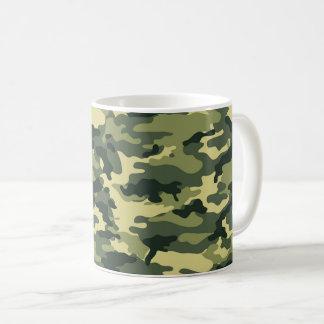 Green Camouflage Pattern Coffee Mug