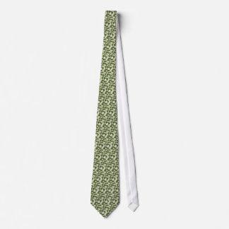 Green Camouflage pattern Tie