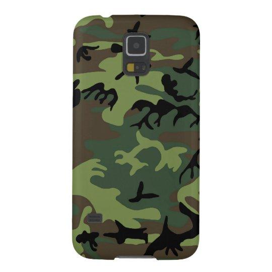 Green Camouflage Samsung Galaxy S5 Case