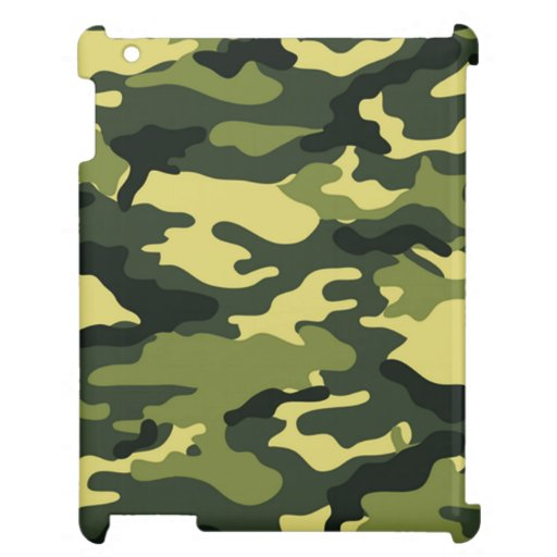 Green camouflage | Savvy iPad Case