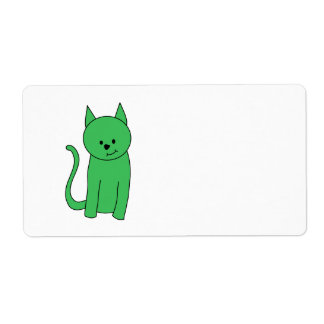 Green Cat.