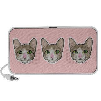 Green Cat Eyes (pink) speaker