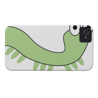Green Caterpillar iPhone 4 Case