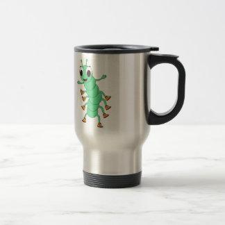 Green Caterpillar Mug