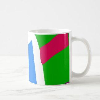Green Caterpillar Basic White Mug