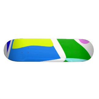 Green Caterpillar 20 Cm Skateboard Deck