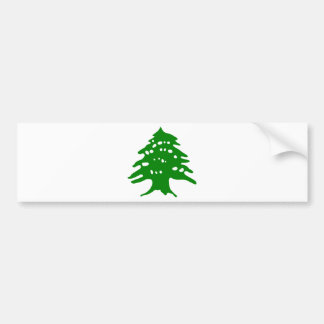 Green Cedar / Lebanon Cedar Bumper Sticker