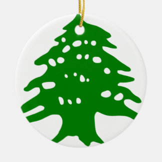 Green Cedar / Lebanon Cedar Christmas Ornament