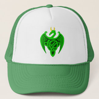 Green Celtic Dragon Hat
