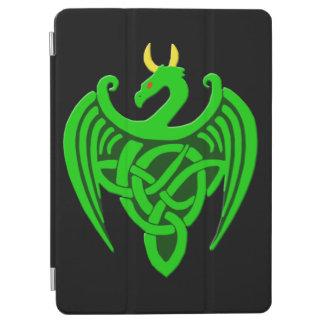 Green Celtic Dragon iPad Air Smart Cover