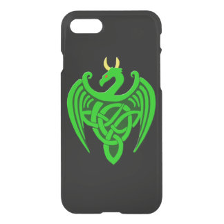 Green Celtic Dragon iPhone 7 Case