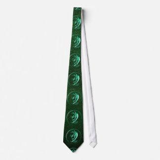 Green Celtic Dragon Tie