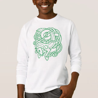 Green Celtic Horse Tee