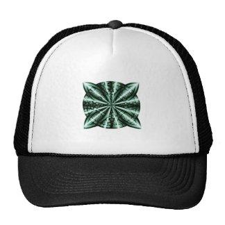 Green Celtic Knot Art Cap