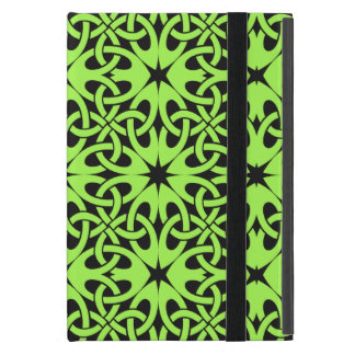 Green Celtic Knot CHOOSE YOUR OWN BACKGROUND iPad Mini Case