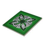 Green Celtic Knot Original Art