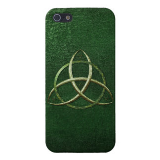 Green Celtic Trinity Knot Case For iPhone 5/5S
