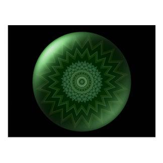 Green Chakra Postcard