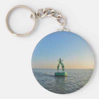 Green Channel Buoy Key Ring