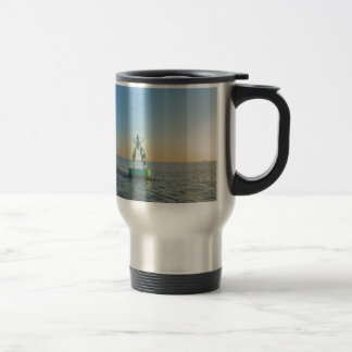 Green Channel Buoy Travel Mug