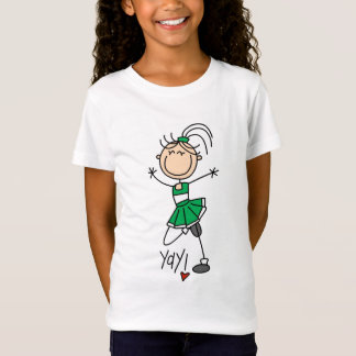 Green Cheerleader Tshirts and Gifts