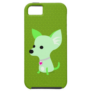 Green Chihuahua iPhone 5 Covers