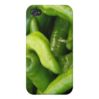 Green Chili Peppers iPhone 4 Case