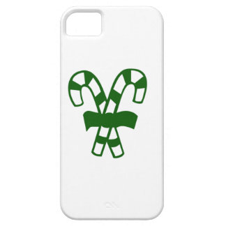 Green Christmas Candy Canes iPhone 5 Covers