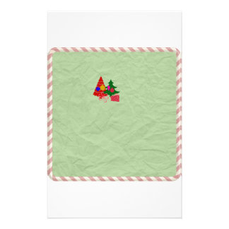 Green Christmas Holiday Stationary Christmas tree Stationery