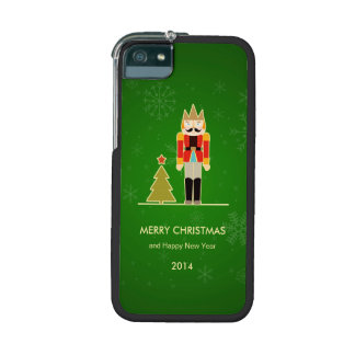 Green Christmas - Nutcracker Holiday Greeting iPhone 5 Case