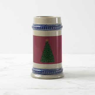 Green Christmas Tree, Gold Running Horses, Sangria Coffee Mugs