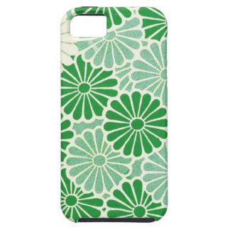Green Chrysanthemum iPhone 5 Covers