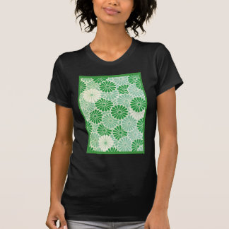 Green Chrysanthemum T-Shirt